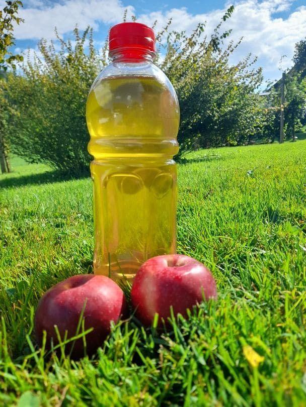 Suessmost in 1 Liter Flasche